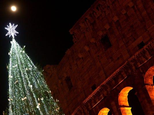 ITALY-CHRISTMAS
