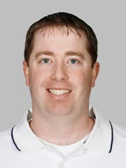 Bob Quinn with the Patriots in 2006.