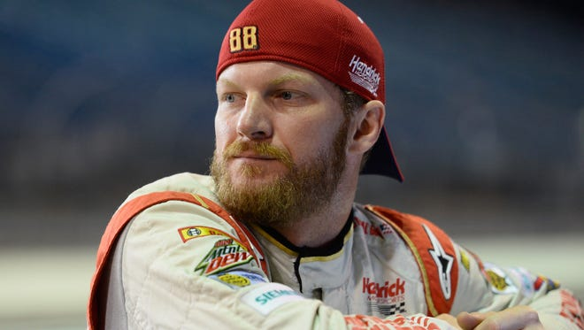 Dale Earnhardt Jr., driver of the #88 National Guard Chevrolet.