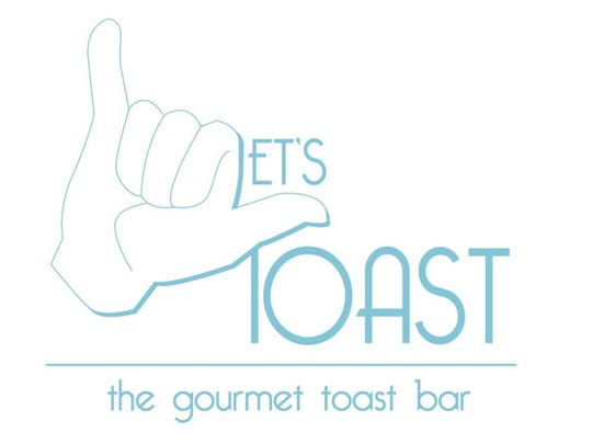 The Let's Toast logo. Let's Toast is a food truck hoping