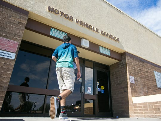 A former ADOT employee has been accused of tampering with motor-vehicle records.