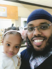 ICE detainee Ishaar (pictured) tested positive for