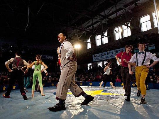 Circus Smirkus at Memorial Auditorium during First