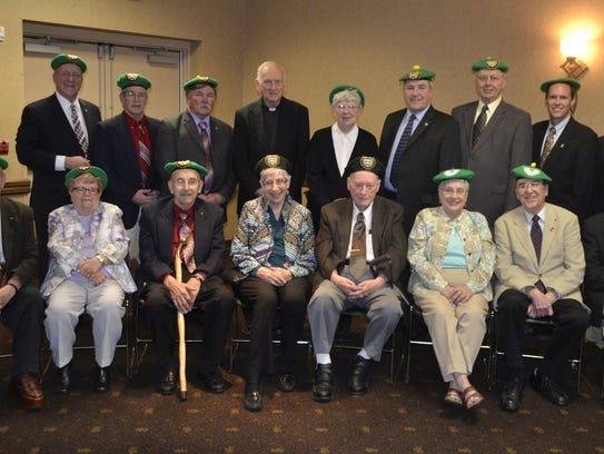 Seventeen of the 47 recipients of the De Pere Community