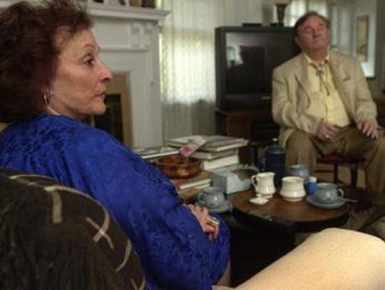 Miriam Brickman, left, and her husband, Ronald Senator,