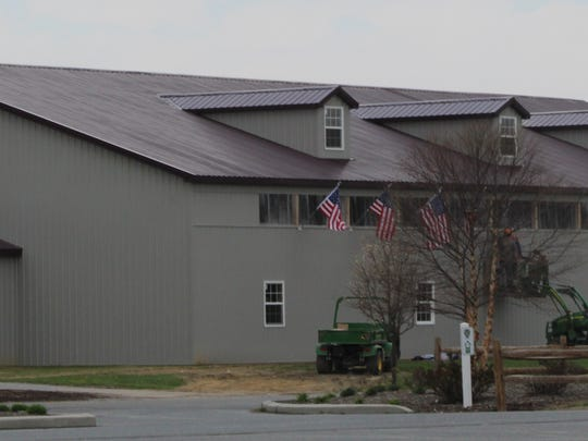 An outside view of the new indoor facility in Georgetown.