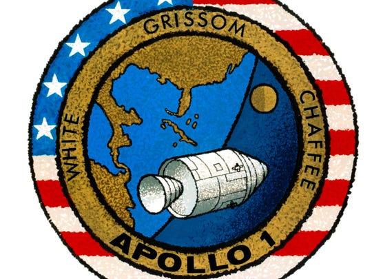 Apollo 1 mission patch.
