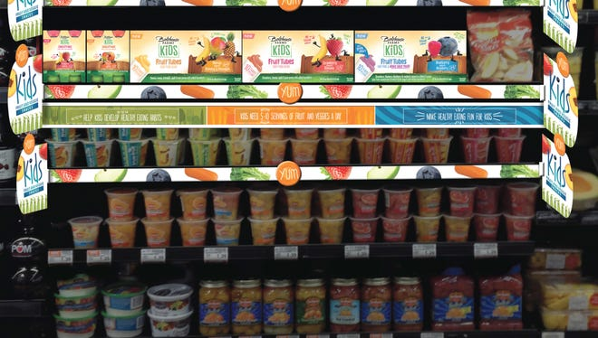 "Bolthouse Farms will help retailers create kids 'snack destinations' in the produce aisle designed to make it easier for parents to shop for better snack options featuring fruits and veggies.""  [Via MerlinFTP Drop]"