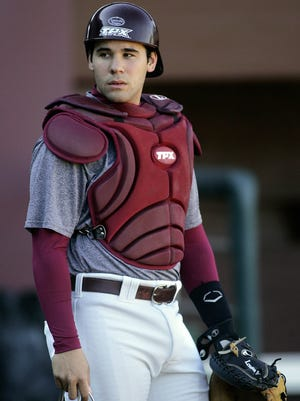 Former Battle Creek Bombers catcher Rafael Lopez, shown here in 2009 while at Florida State University, has been called up by the Chicago Cubs.