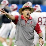 Roll Tribe: Fisher and Saban emulate past coaching greats