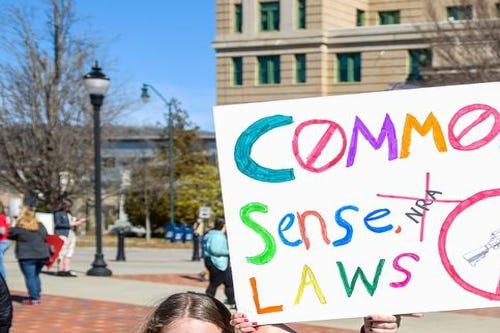 Asheville holds rally against gun violence