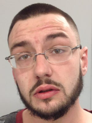 Tyler Hastings of Barre was arrested for allegedly assaulting a 25 year old Burlington man