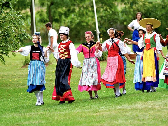 Canton Girls in New Glarus