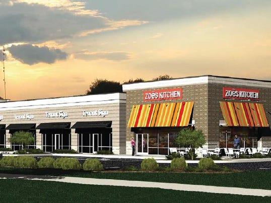 Zoe\'s Kitchen opens next week in Murfreesboro