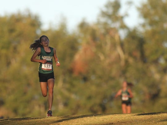 Lincoln freshman Alyson Churchill followed up a win at the FSU Invitational pre-state meet by winning district and regional titles.