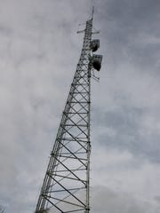A public safety communications tower on Kinner Hill