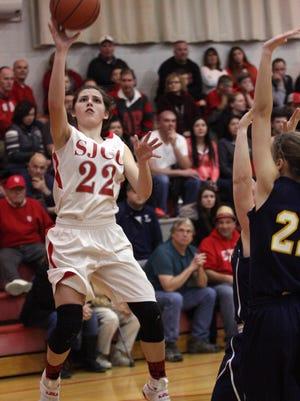 SJCC's Miranda Wammes continues her basketball career at Ohio Northern.