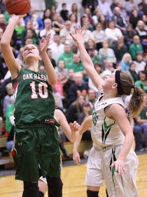 Logan Harris had a game-high 28 points in Oak Harbor's 47-42 victory over Margaretta.
