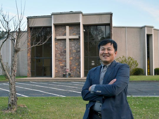 The Rev. Peter Liu is the pastor at Chinese Christian