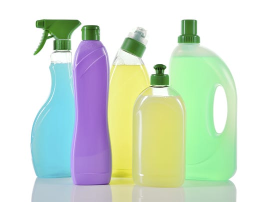 It is important to read labels of household products,