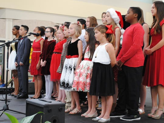 Little Prodigy School of Music Choir performed selections