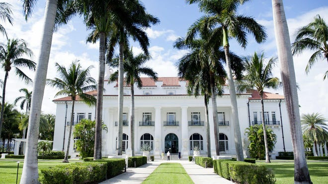 The Flagler Museum has required visitors to have pre-paid tickets since it reopened on June 9.