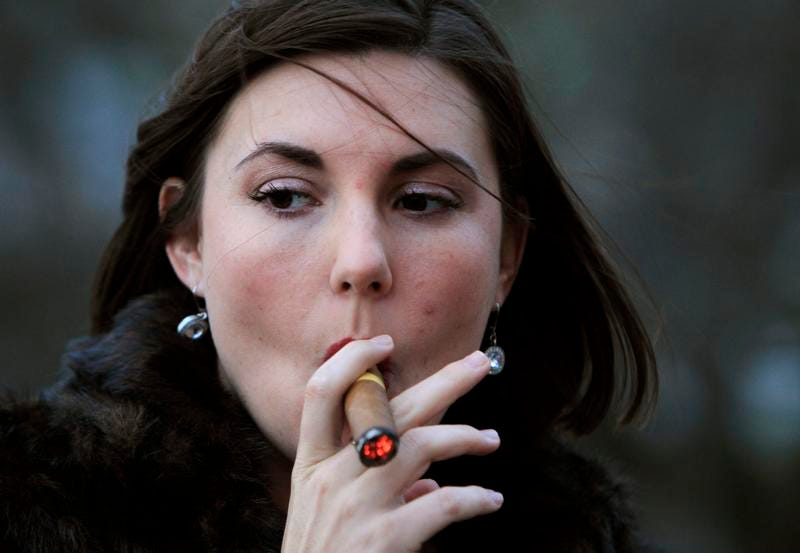 Women who enjoy smoking