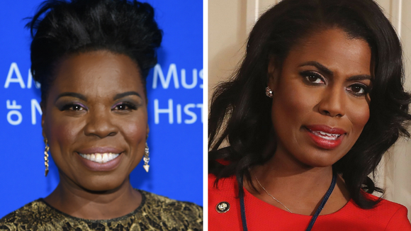 Leslie Jones and Omarosa Manigault.