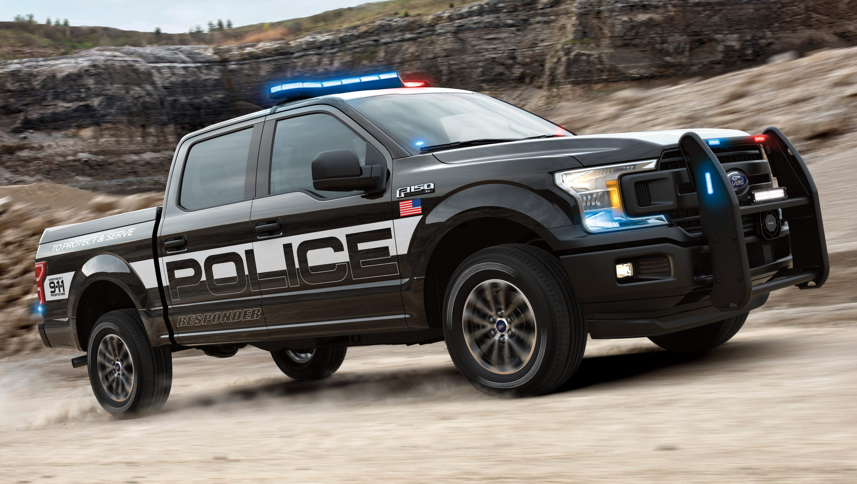 ford creates 39 pursuit rated 39 f 150 police pickup truck. Black Bedroom Furniture Sets. Home Design Ideas
