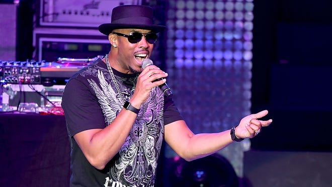 Montell Jordan performs onstage during the I Love The 90s The Party Continues at The Greek Theatre in Los Angeles.