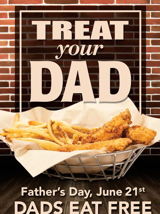 Check out our Father's Day restaurant deals, Father's Day printable coupons, and Father's Day food specials from some of his favorite places like Bob Evans, Waffle House, Boston Market, Sweet Tomatoes, Logan's Roadhouse, Outback Steak House, Pizzas, Burgers and More! Read More. Father's Day Deals.