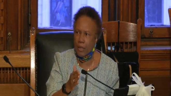 """""""If there's a problem with this city, it starts here with the policymakers,"""" said Councilor Denise Simmons at the June 10 City Council meeting."""