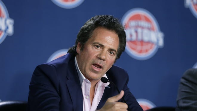 Pistons owner Tom Gores
