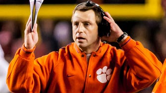Clemson coach Dabo Swinney rescinded his commitment to accept an honor from the Palmetto Family Council after outcry from state politicians, students and LGBT organizations.
