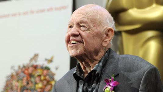 Mickey Rooney, a Hollywood legend, died Sunday. He was 93.