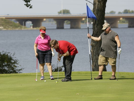 Lakeshore Municipal Golf Course is at the center of
