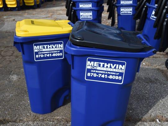 Methvin Sanitation will soon provide 65-gallon carts