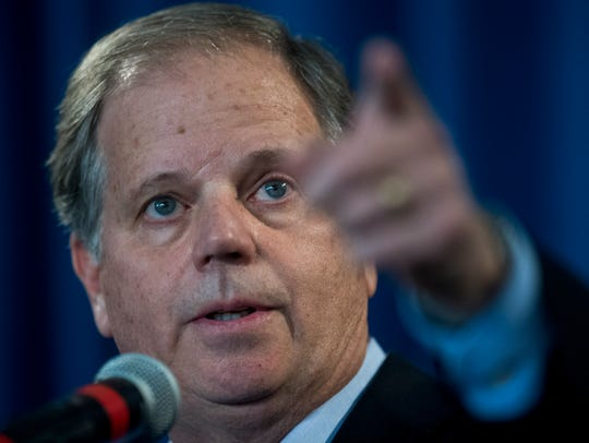 Democrat Doug Jones won a special election for Senate in December, beating polarizing Republican nominee Roy Moore.