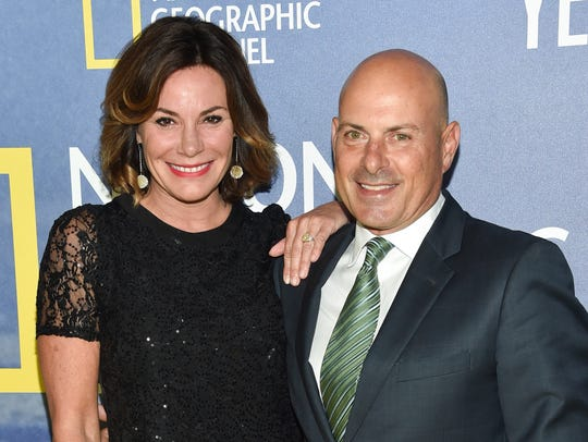 Luann de Lesseps and Thomas D'Agostino in New York