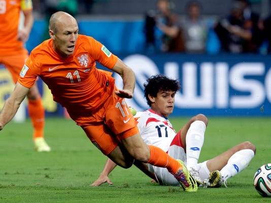 Brazil Soccer WCup Netherlands Costa Rica (2)