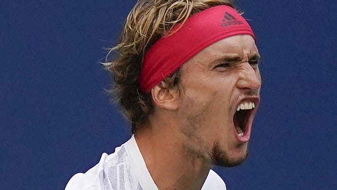 Alexander Zverev is a rising star in tennis and his game is coming together at the U.S. Open.
