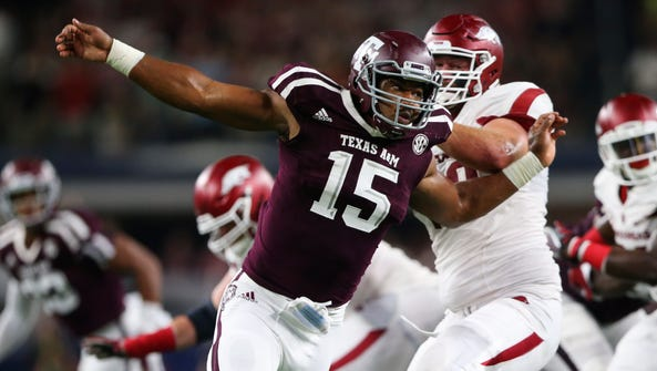 Texas A&M's Myles Garrett might be the first player