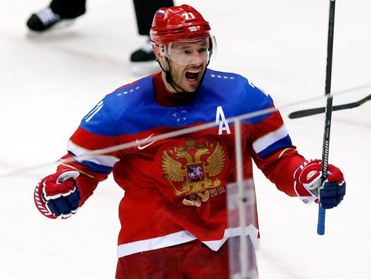 USP OLYMPICS: ICE HOCKEY-MEN'S QUALIFICATIONS-RUS S OLY RUS