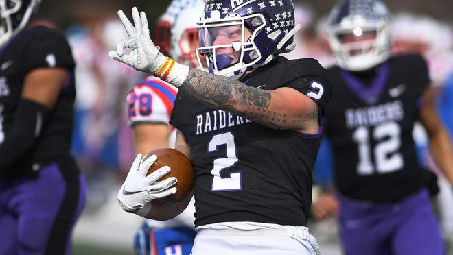 Enjoy footage of the first career start of Mount Union running back Josh Petruccelli, pictured during a 2019 playoff game against Hanover, on WIVM-TV Saturday.