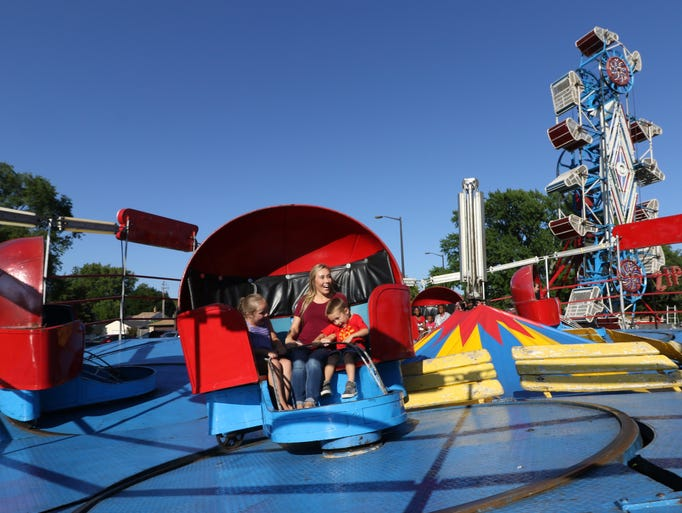 The thrills and fun for folks at the Lions Funfest