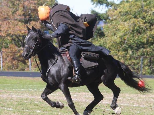 You might encounter the Headless Horseman on the annual Sleepy Hollow Haunted Hayride.