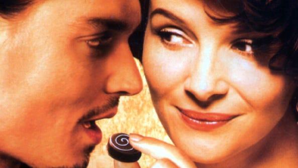 Johnny Depp and Juliette Binoche star in the romantic