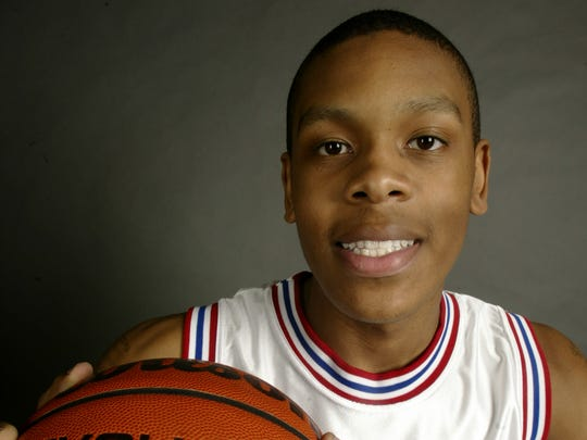2003 IndyStar Mr. Basketball Justin Cage of Pike.