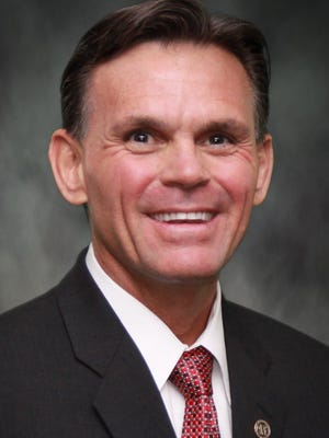 Macomb County Executive Mark Hackel.