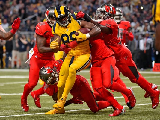USP NFL: TAMPA BAY BUCCANEERS AT ST. LOUIS RAMS S FBN USA MO